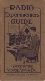 Radio Expermenter's Guide - Antique Radios Online
