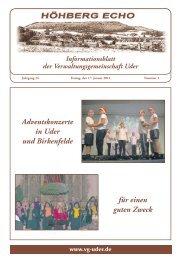 Januar 2014 - Verwaltungsgemeinschaft Uder