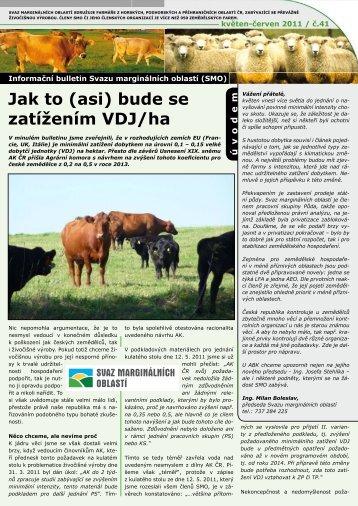 Info bulletin SMO květen+červen 2011 - Svaz marginálních oblastí
