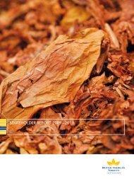 STAKEHOLDER REPORT 2009 – 2010 - British American Tobacco ...