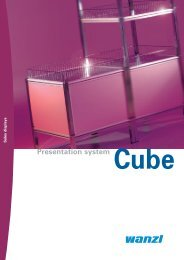 Presentation system Cube - Expedit