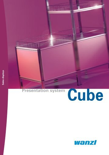 Presentation system Cube - Expedit