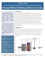 Water Heating Design Guide Final - Food Service Technology Center