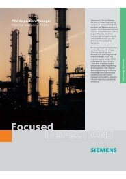 INSPECTIONS Focused - Siemens