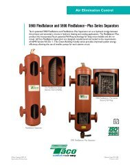 5900 FlexBalance and 5900 FlexBalance~Plus Series ... - Taco-Hvac