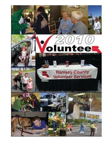 Ramsey County's 2010 Report on Volunteerism - Minnesota ...