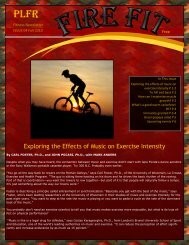 Exploring the Effects of Music on Exercise Intensity - Port Ludlow ...