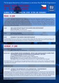 ANNUAL SUMMER CONFERENCE 19–21 JUNE 2009 ... - EUConsult - Page 2