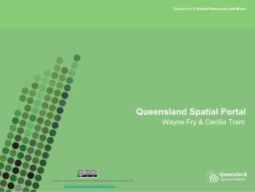 Queensland Spatial Portal - Data Smart - Queensland Government