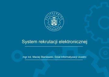 System rekrutacji elektronicznej