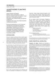 LAS INSTITUCIONES Y EL MALTRATO INFANTIL - Sociedad de ...
