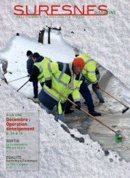 Suresnes Magazine - Février 2011