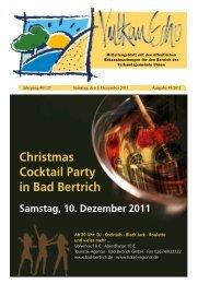 Jahrgang 40/127 Samstag, den 3. Dezember 2011 Ausgabe 48/2011
