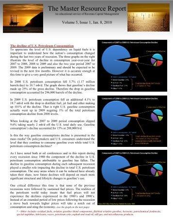 see January 8, 2010 report - Ravenna Capital Management