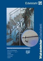 Handrail accessories / Accessoires de main-courante - Triebenbacher