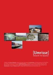 04·2007 - Themen: Infrastruktur, Fußgängerbrücken - Umrisse