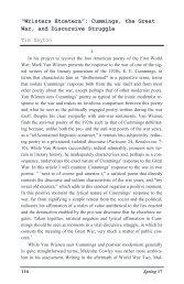 """Wristers Etcetera"": Cummings, the Great War, and Discursive ... - Gvsu"