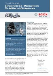 Denoxtronic 6.5 – Dosiersystem für AdBlue in SCR-Systemen ...