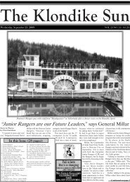 """Junior Rangers are our Future Leaders,"" says ... - Dawson City"