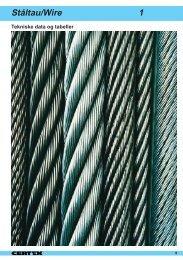 Ståltau/Wire 1 - Certex