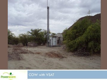 COW with VSAT - Powerstorm