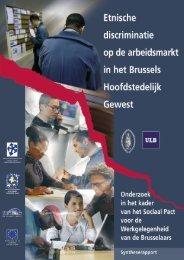 Etnische discriminatie op de arbeidsmarkt in het Brussels ... - Lirias