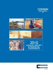 2010 Annual Report PDF - Investing In Africa