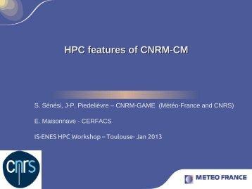 CNRM-CM5, Stéphane Sénési (MeteoFrance, FR) - IS-ENES