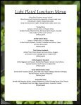 Buffet Luncheon Menus - Oregon Zoo - Page 3