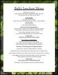 Buffet Luncheon Menus - Oregon Zoo - Page 6
