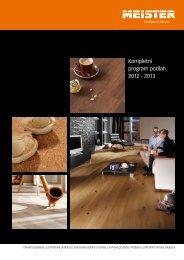 Přehled a ceník podlah Meister pro rok 2012