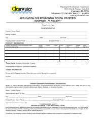 APPLICATION FOR RESIDENTIAL RENTAL PROPERTY ...