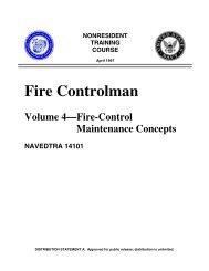 Fire Controlman - Historic Naval Ships Association