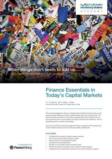 Download Brochure - NASDAQ Dubai