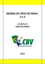 REGRAS DE VÔLEI DE PRAIA - CBV