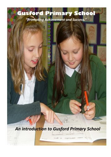 Prospective Parents Introduction to Gusford - Gusford Primary School