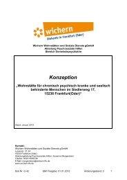 Konzept pdf - Wichern Diakonie Frankfurt