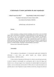 Giliard Francisco da Silva - Informação_ O maior Patrimônio de uma ...