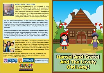 hansel and gretel and the lovely old lady - Podar Jumbo Kids Plus