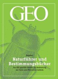 Naturführer und Bestimmungsbücher - Stiftung Natur und Umwelt ...
