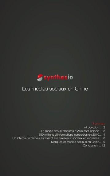 Les médias sociaux en Chine - Synthesio
