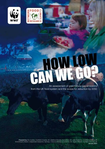 How low can we go? - International Vegetarian Union
