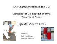 Site Characterization in the US - ATV Jord og Grundvand