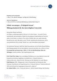 "Schule von morgen: ""Trialogisch lernen"" - Herbert-Quandt-Stiftung"