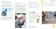 Faltblatt für einen sicheren Schulweg - BKK in Bayern