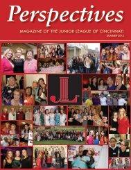 Summer 2013 Issue (PDF) - The Junior League of Cincinnati