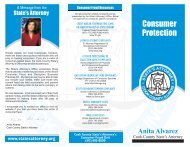 Consumer Protection - Cook County State's Attorney's Office