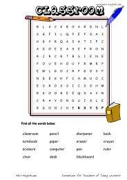 MES-English.com - worksheets - classroom