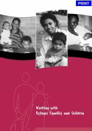 Working with Refugees - South Western Sydney Local Health ...