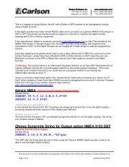 Depth Sounder Summary.pdf - Carlson Software